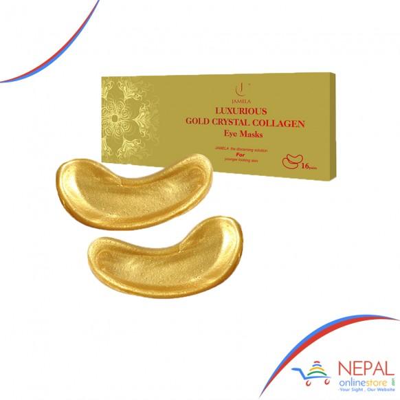 24K Gold Collagen Under Eye Mask (Techamor)